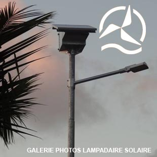 Galerie photos lampadaires solaires Energiedouce